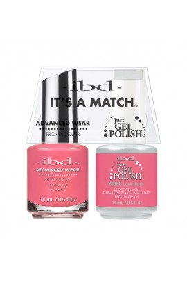 ibd - It's a Match - Duo Pack - Lush Blush - 14 ml / 0.5 oz