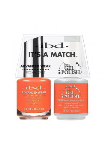 ibd - It's a Match - Duo Pack - Peach Better Have My $ - 14 ml / 0.5 oz