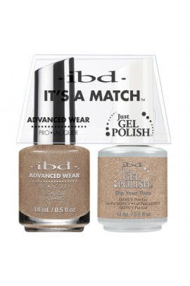 ibd - It's A Match -Duo Pack- Dip Your Toes - 14 mL / 0.5 oz Each