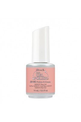 ibd Just Gel Polish - Peach Palette Collection - Pinkies N Cream - 14 ml / 0.5 oz