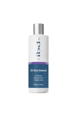 ibd LED Shine Enhancer - Gel Cleanser - 8 oz / 236 ml