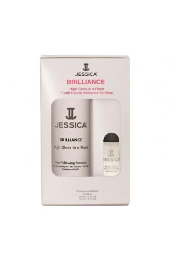 Jessica - Professional Refill Kit - Brilliance - 120 mL / 4 oz & 15 mL / 0.5 oz
