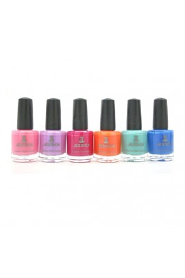 Jessica Nail Polish - Gypsy Spirit Summer 2018 Collection - 0.5oz / 14.8ml -  All 6 Colors