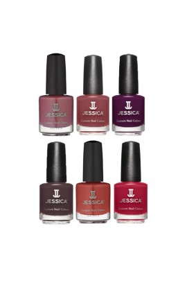 Jessica Nail Polish - Into The Wild Fall 2016 Collection - 0.5oz / 14.8ml -  All 6 Colors