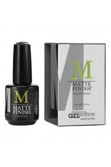 Jessica GELeration - Matte Finish Soak-Off Sealer - 15 mL / 0.5 Fl. Oz