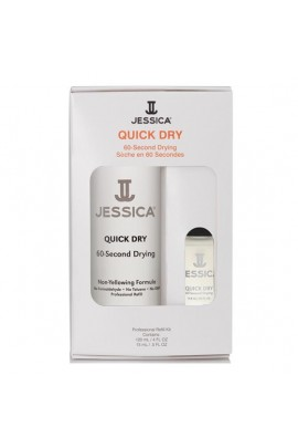 Jessica - Professional Refill Kit - Quick Dry - 120 mL / 4 oz & 15 mL / 0.5 oz