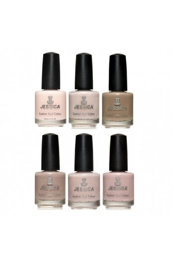 Jessica Nail Polish - Silhouette Spring 2017 Collection - 0.5oz / 14.8ml -  All 6 Colors