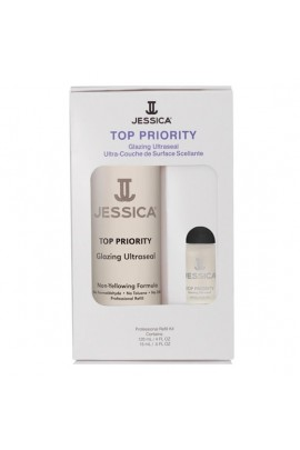Jessica - Professional Refill Kit - Top Priority - 120 mL / 4 oz & 15 mL / 0.5 oz