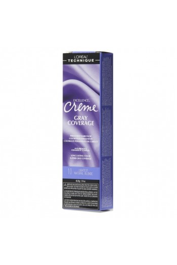 L'Oreal Technique Excellence Creme - Gray Coverage - Lightest Natural Blonde - 1.74oz / 49.29oz