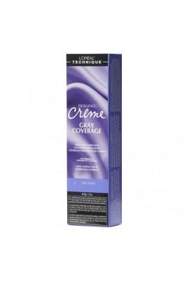 L'Oreal Technique Excellence Creme - Gray Coverage - Dark Brown - 1.74oz / 49.29oz