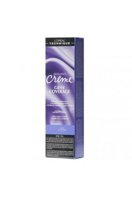 L'Oreal Technique Excellence Creme - Gray Coverage - Dark Ash Blonde - 1.74oz / 49.29oz