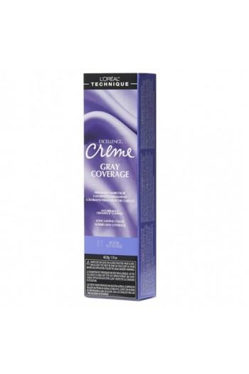 L'Oreal Technique Excellence Creme - Gray Coverage - Medium Ash Blonde - 1.74oz / 49.29oz