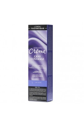 L'Oreal Technique Excellence Creme - Gray Coverage - Light Blonde - 1.74oz / 49.29oz