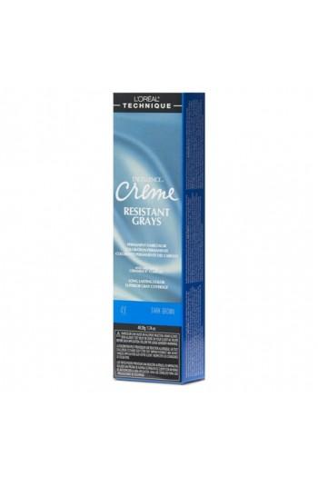 L'Oreal Technique Excellence Creme - Resistant Grays - Dark Brown 4X - 1.74oz / 49.29oz