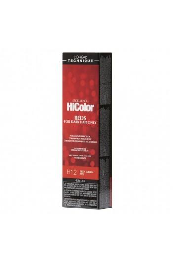 L'Oreal Technique Excellence HiColor Reds - Deep Auburn Red - 1.74oz / 49.29oz