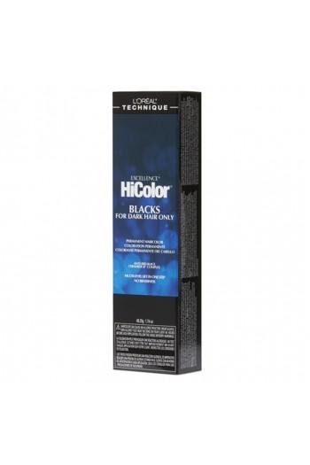 L'Oreal Technique Excellence HiColor Blacks - Black Sapphire - 1.74oz / 49.29oz