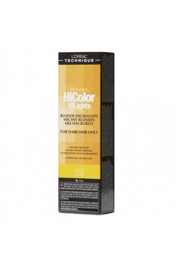 L'Oreal Technique Excellence HiColor HiLights - Blonde Highlights - Natural Blonde - 1.74oz / 49.29oz