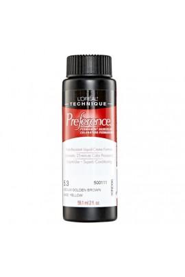 L'Oreal Technique Preference - 5.3 Medium Golden Brown - 59.1ml / 2oz
