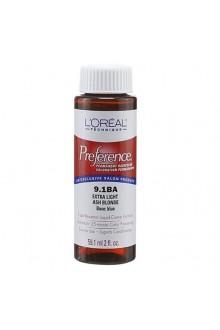 L'Oreal Technique Preference - 9.1BA Extra Light Ash Blonde - 59.1ml / 2oz