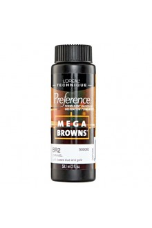 L'Oreal Technique Preference - Mega Browns - BR2 Caramel - 59.1ml / 2oz