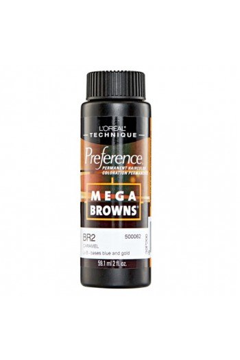 L'Oreal Technique Preference - Mega Browns - BR2 Caramel - 59.1ml / 2oz