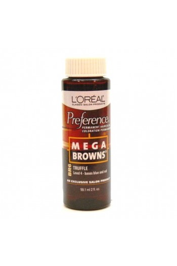 L'Oreal Technique Preference - Mega Browns - BR6 Truffle - 59.1ml / 2oz