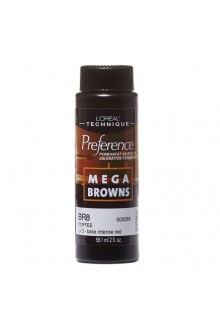 L'Oreal Technique Preference - Mega Browns - BR8 Coffee - 59.1ml / 2oz
