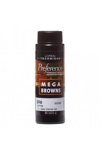 L'Oreal Technique Preference - Mega Browns - BR8 Coffee - 59.1ml / 2oz