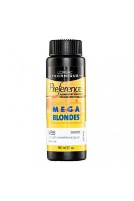 L'Oreal Technique Preference - Mega Blondes - MB5 Lightest Champagne Blonde - 59.1ml/2oz