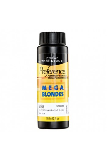 L'Oreal Technique Preference - Mega Blondes - MB5 Lightest Champagne Blonde - 59.1ml/2oz