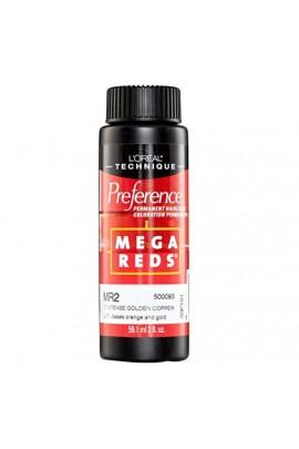 L'Oreal Technique Preference - Mega Reds - MR2 Light Intense Golden Copper - 59.1ml / 2oz