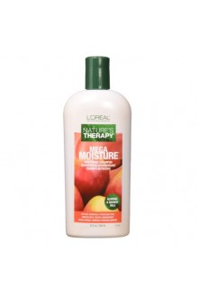 L'Oreal Technique Nature's Therapy - Mega Moisture Shampoo - Almond & Mango Oils - 12oz / 355mL