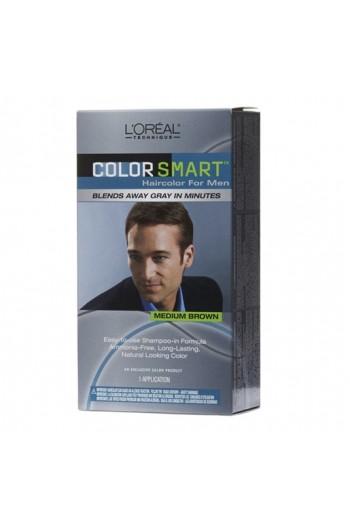 L'Oreal Technique - Color Smart for Men - Medium Brown KIT