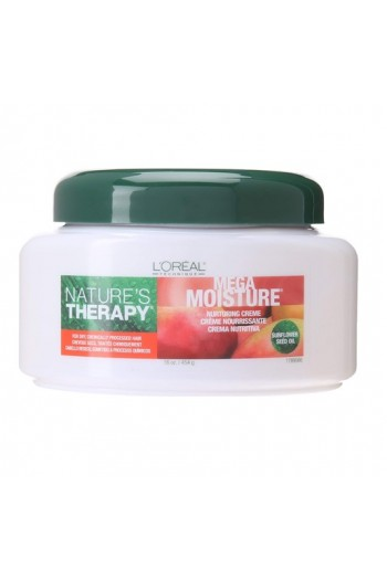 L'Oreal Technique Nature's Therapy - Mega Moisture Creme - Sunflower Seed Oil - 16oz / 454g