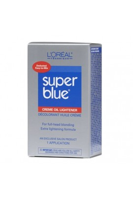 L'Oreal Technique - Super Blue - Creme Oil Lightener KIT