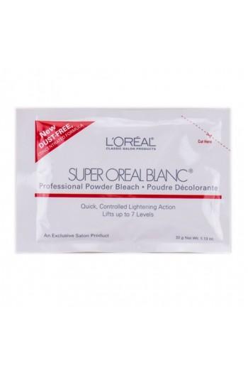 L'Oreal Classic Salon Products - Super Oreal Blanc - Powder Bleach Packette - 1.13oz / 32g