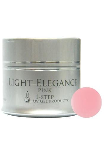Light Elegance UV Gel - Pink 1-Step - 1.79oz / 50ml