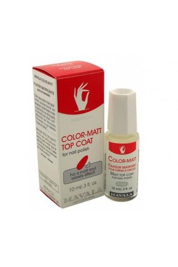 Mavala - Color-Matt Top Coat - 10mL / 0.3 oz