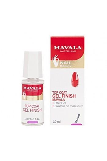 Mavala - Gel Finish Top Coat - 10mL / 0.3 oz