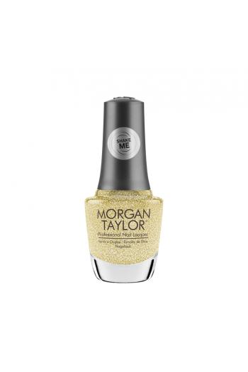 Morgan Taylor Nail Lacquer - Shake Up The Magic! Collection - California Gold - 15ml / 0.5oz
