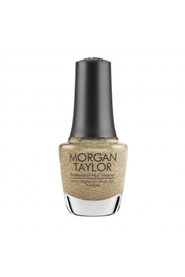 Morgan Taylor Nail Lacquer - Champagne & Moonbeams 2019 Collection - Gilded in Gold - 15ml / 0.5oz