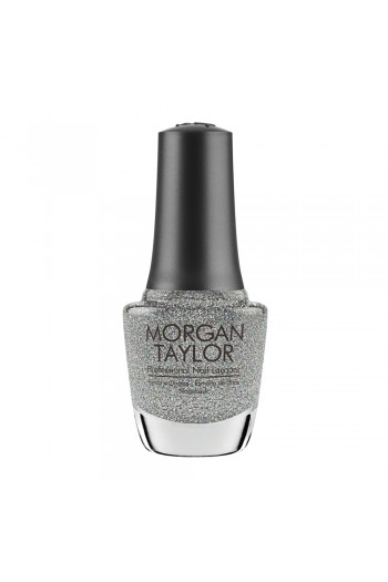 Morgan Taylor Nail Lacquer - Champagne & Moonbeams 2019 Collection - Sprinkle of Twinkle - 15ml / 0.5oz