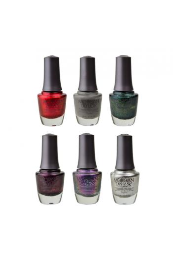 Morgan Taylor Nail Lacquer - Disney Villains Collection - All 6 Colors - 15ml / 0.5oz Each