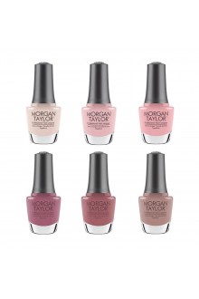 Morgan Taylor Nail Lacquer - Editor's Picks 2020 Collection - All 6 Colors - 15ml / 0.5oz Each