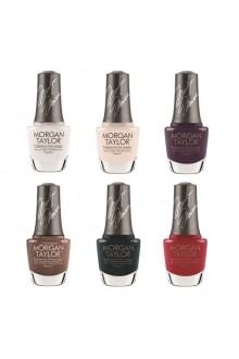 Morgan Taylor Nail Lacquer - Forever Marilyn Fall 2019 Collection - All 6 Colors - 15ml / 0.5oz each