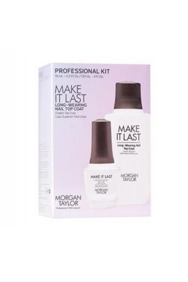 Morgan Taylor - Professional Kit - Make It Last - Top Coat - 15mL / 120 mL