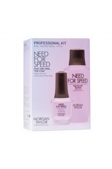 Morgan Taylor  -  Professional Kit  - Need For Speed - Top Coat - 15mL / 120 mL