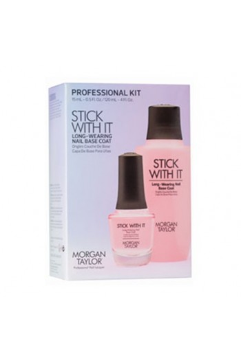 Morgan Taylor  -  Professional Kit - Stick With It - Base Coat  - 15mL / 120 mL