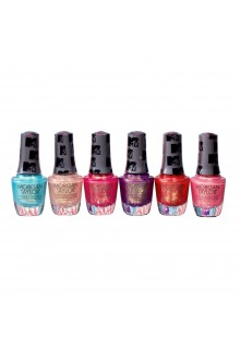 Morgan Taylor Nail Lacquer - MTV Switch On Color 2020 Collection - All 6 Colors - 15ml / 0.5oz Each