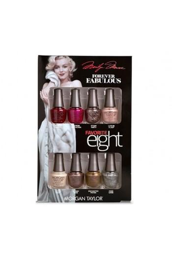 Morgan Taylor - Forever Fabulous Marilyn Monroe - Mini 8 Pack - 5 mL / 0.17 oz Each